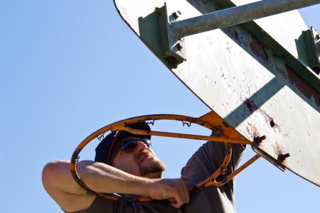 Repairing a basketball hoop