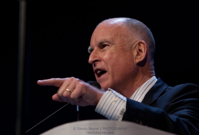 CA Governor Jerry Brown