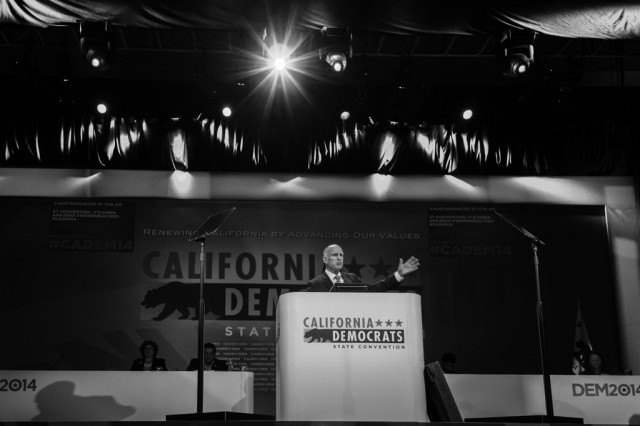 Jerry Brown, CA Democratic Convention