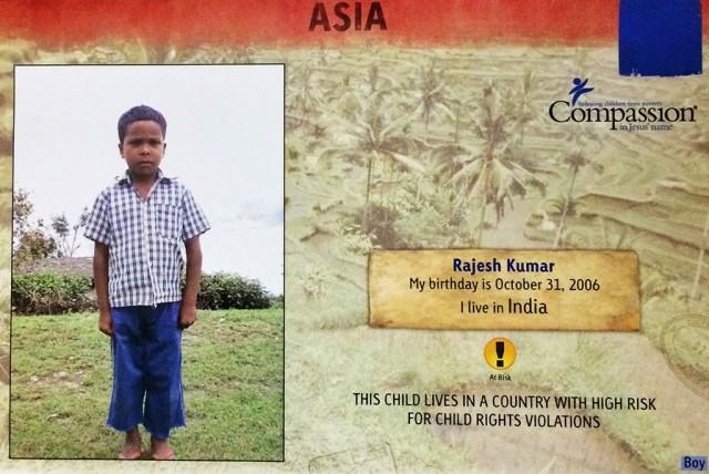 Sponsor Rajesh